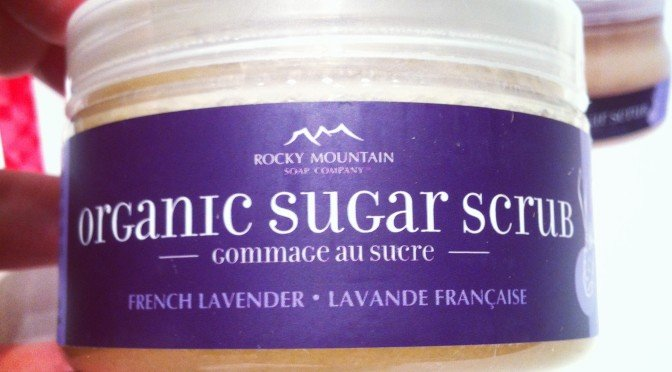 Rocky Mountain Organic Sugar Scrub