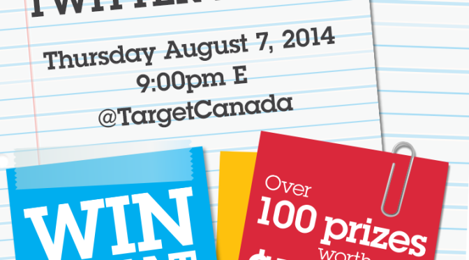 Target twitter party