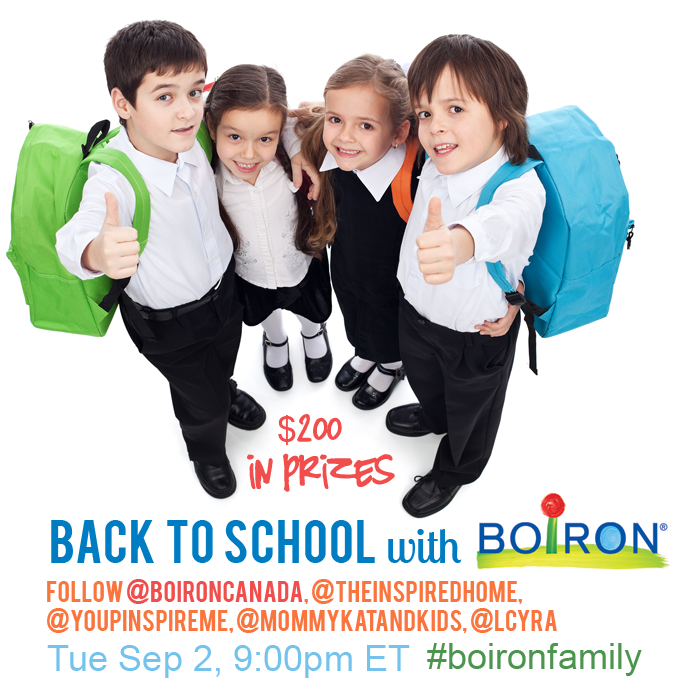 Boiron Twitter Party