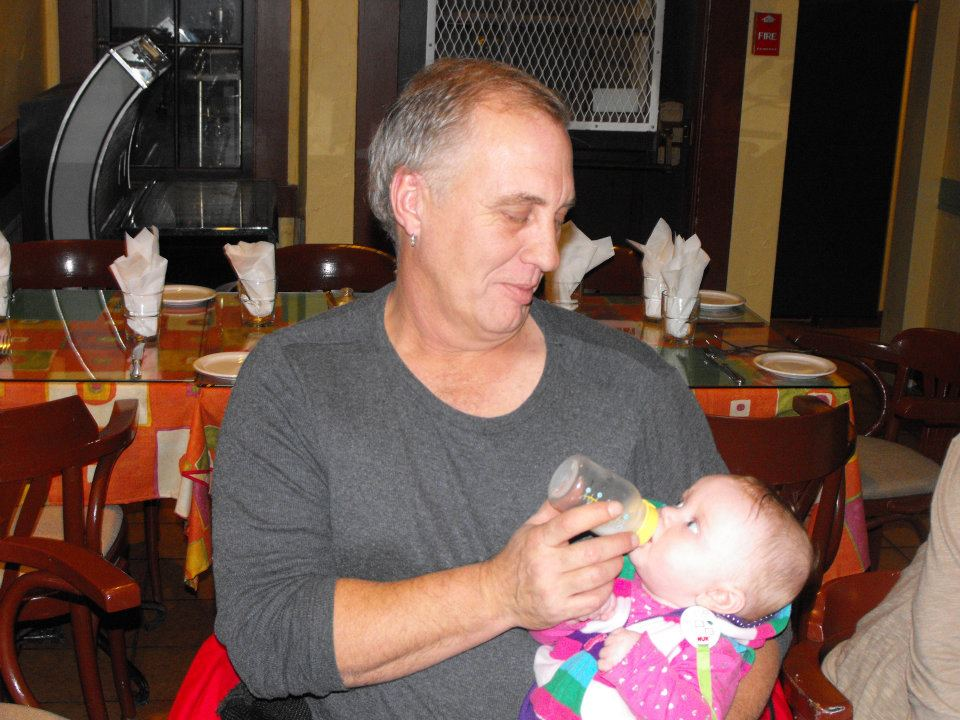 Grandparents Day, Papa & Livvy