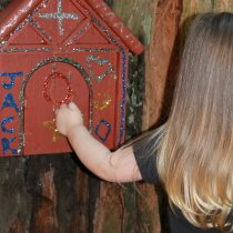 Alivia Redwood Fairy Door