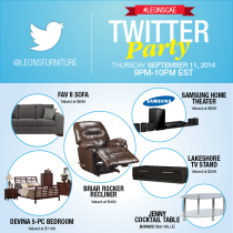 Leons-Furniture-Twitter-Party