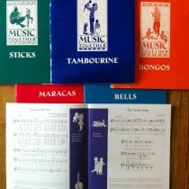 Staccato Studios Music Together Books