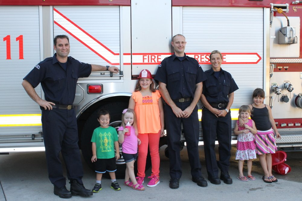 Fire Prevention Week - The crew