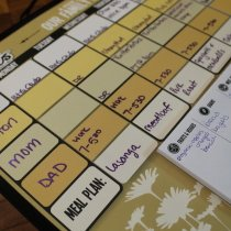 Easy Daysies a Peek at Our Week Calendar
