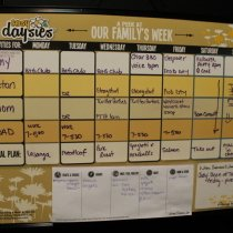 Easy Daysies Peek at Our Week Calendar