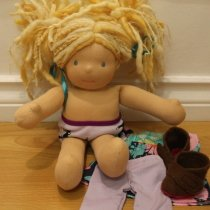Bamboletta Doll Lacy Sitting