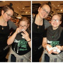 Amy & Jodi at LUSH Metrotown