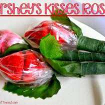 Hershey Kisses Roses