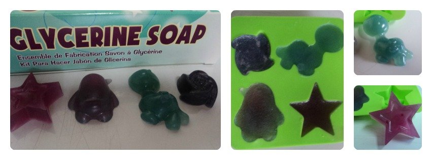 Kiss Naturals Soap Collage