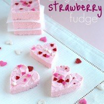Strawberry Fudge - Cookies and Cups