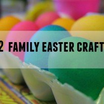 12 Easter Crafts for the entire family