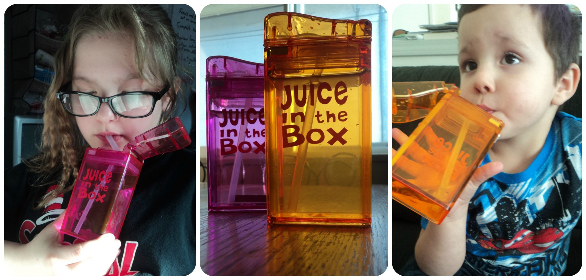 Juice collage