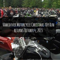 Vancouver Motorcycle Christmas Toy Run