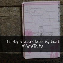 The day a picture broke my heart