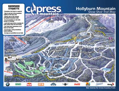 cypress trail map