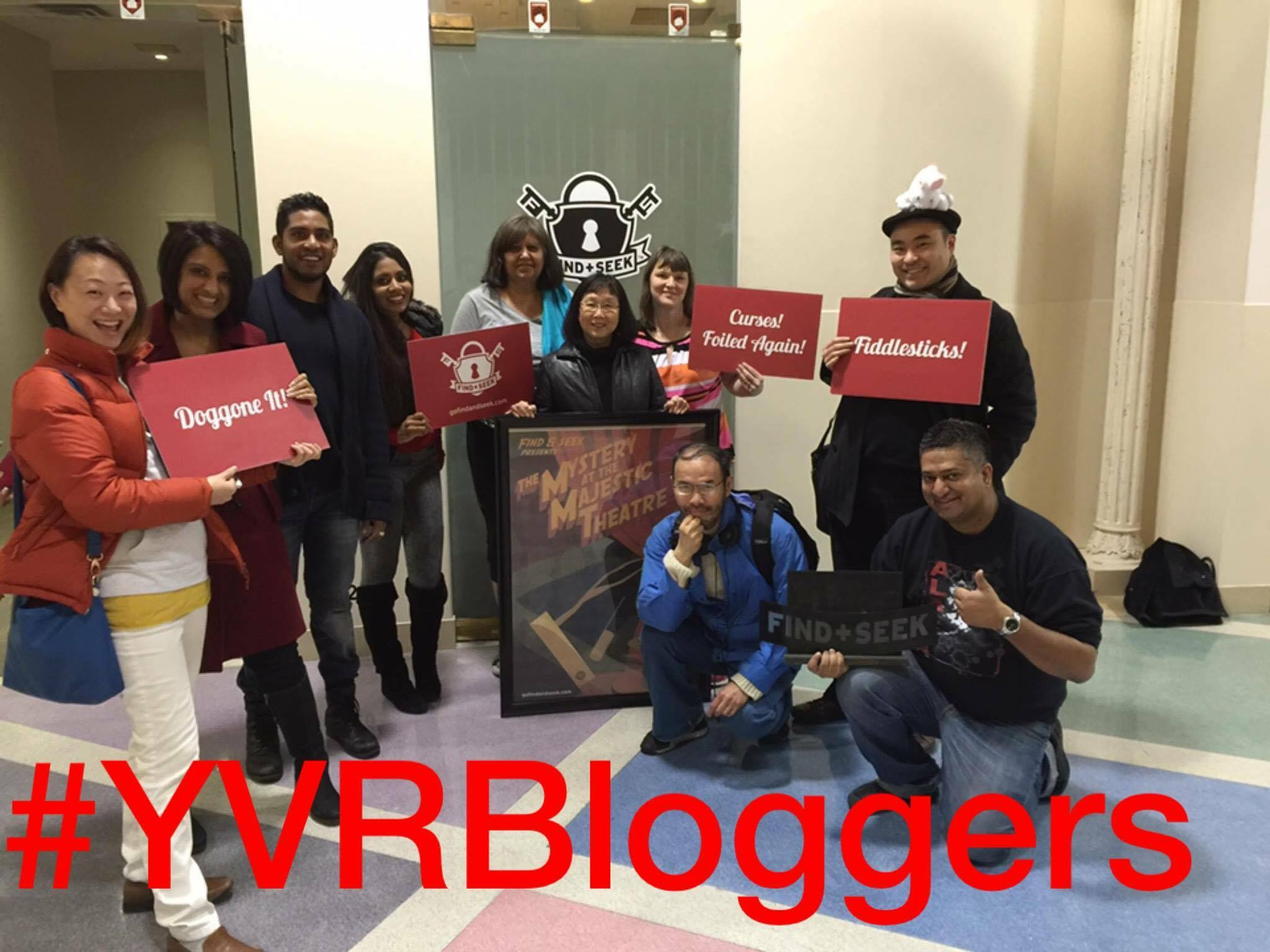 #YvrBloggers at FNS