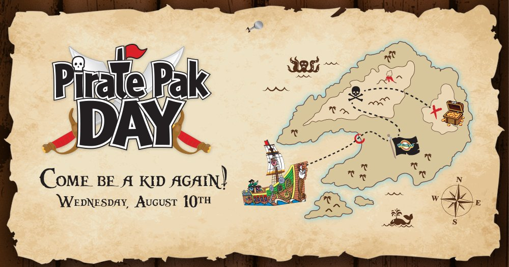 White Spot Pirate Pak Day