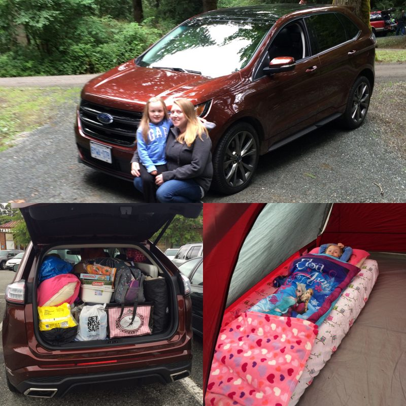 FOrd Edge Sport CampIng