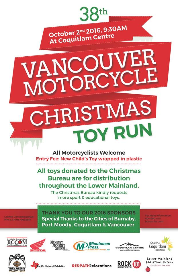 Motorcycle Toy Run