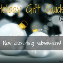 2016 Holiday Gift Guide now open for submissions!