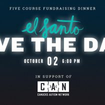 El Santo, charity fundraising dinner for Canucks Autism Network {Events}