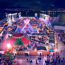 Vancouver Christmas Market moves to its new seaside home!