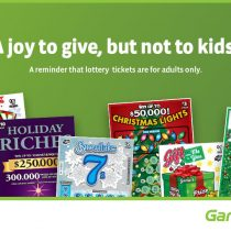 A Joy to Give, But Not To Kids: Give Lottery Products Responsibly + #Giveaway!