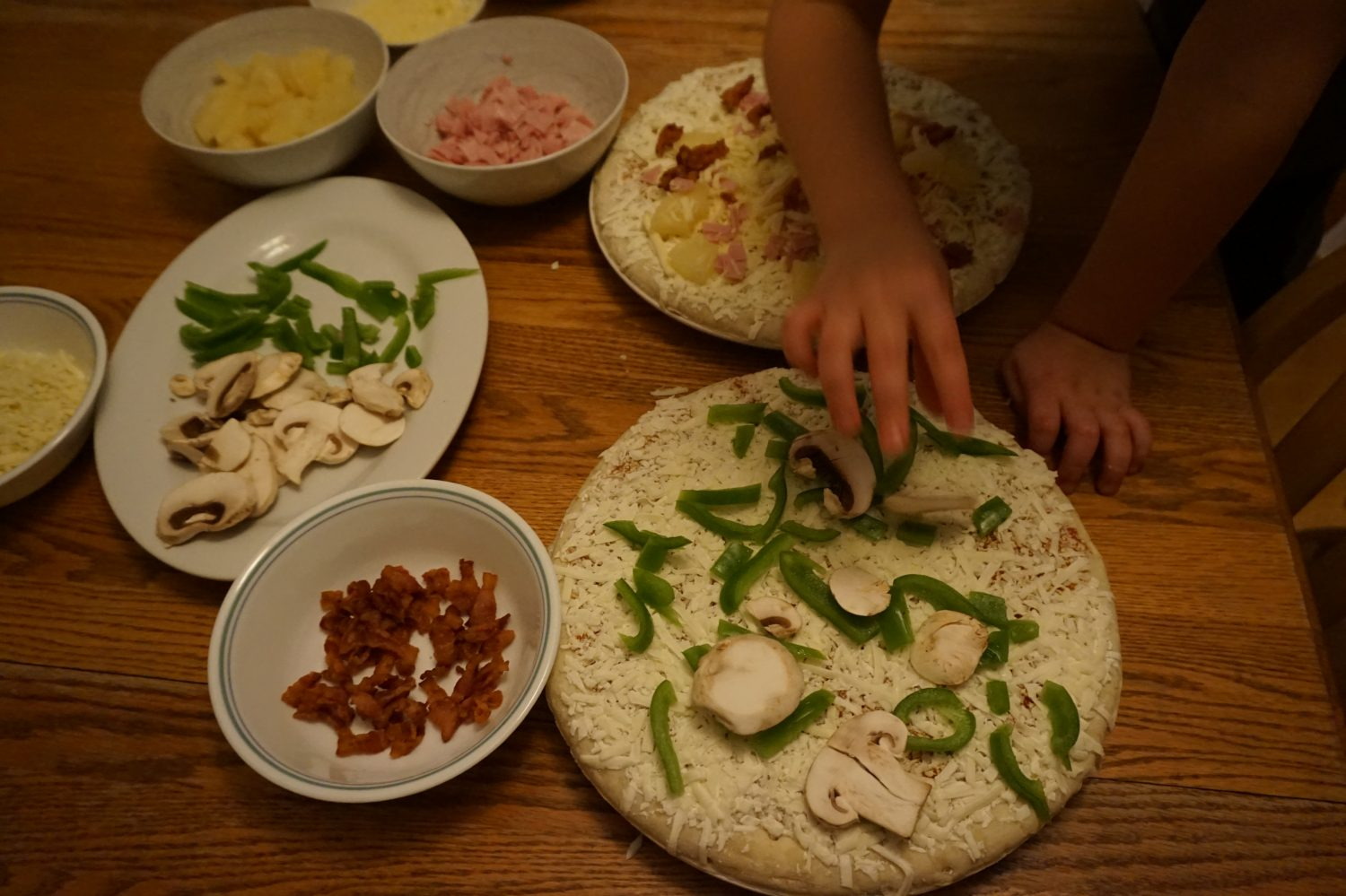 GV pizza making