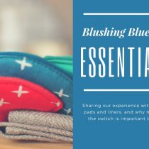 Blushing Bluebird Essentials Cloth Pads