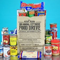 Greater Vancouver Food Bank: 2nd Annual Citywide Food Drive! #Events