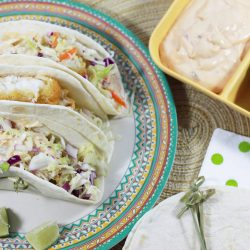 Easy Weeknight Baja Fish Tacos (In Under 30 Minutes!)