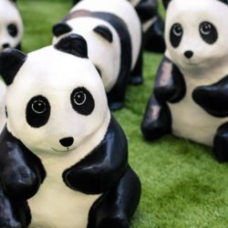 It's PANDA-monium! 888 Pandas On Display At Metropolis at Metrotown! {Events}