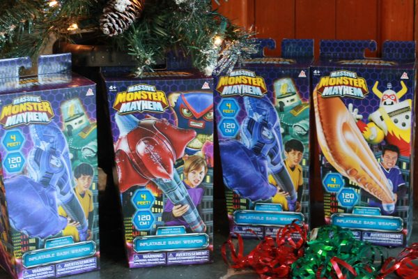 Massive Monster Mayhem Inflatable Weapons Bring The Battles Home