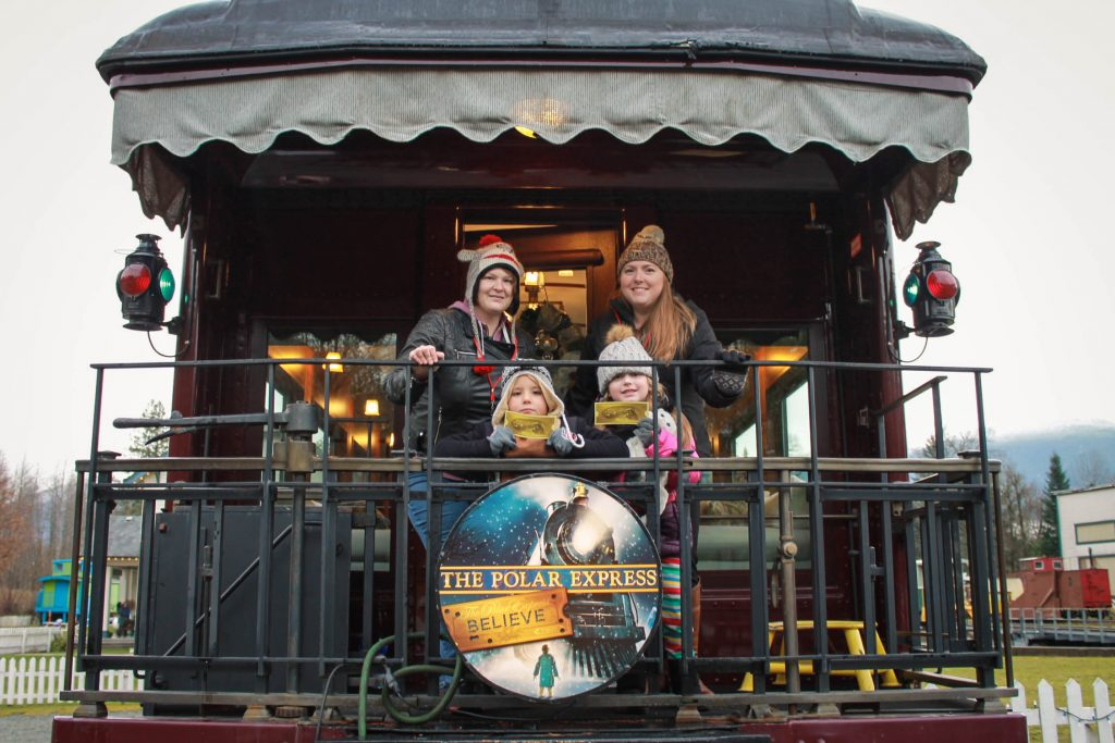 The Polar Express Squamish West Coast Railway Association