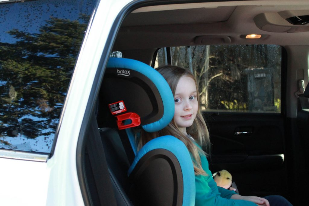 Essentials by Britax Skyline Booster Seat.