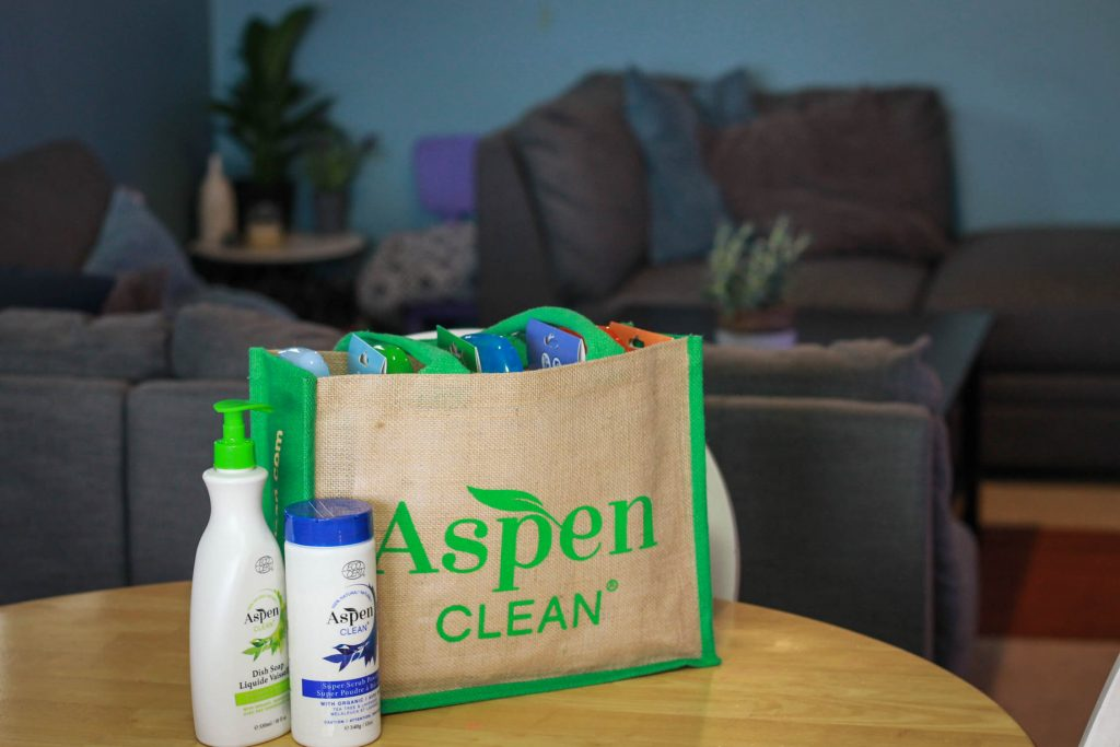 AspenClean product shot living room