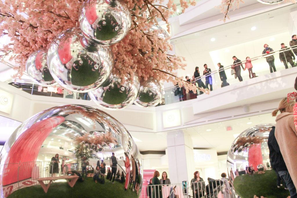 Blossom at Metropolis at Metrotown Looking Up From Grand Court
