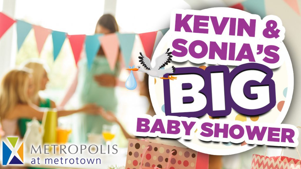 kevin & sonia's big baby shower
