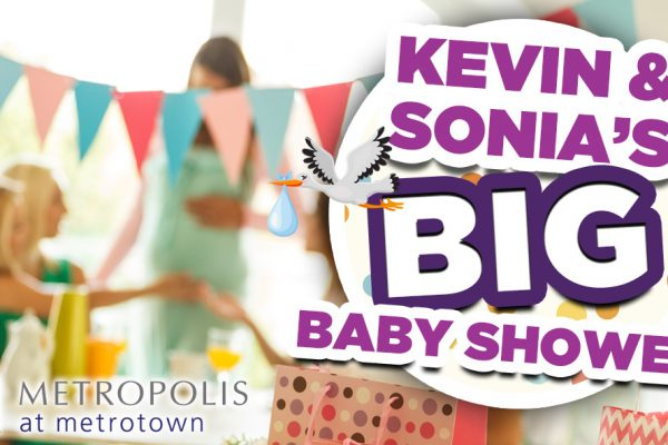Win your way into Kevin & Sonia's BIG Baby Shower at Metropolis at Metrotown! {Event & Contest Details!)