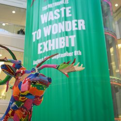 Waste To Wonder: Upcycled art on display at Metropolis at Metrotown [Events]
