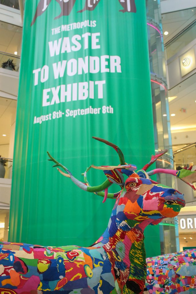Waste To Wonder Banner Grand Court Metrotown