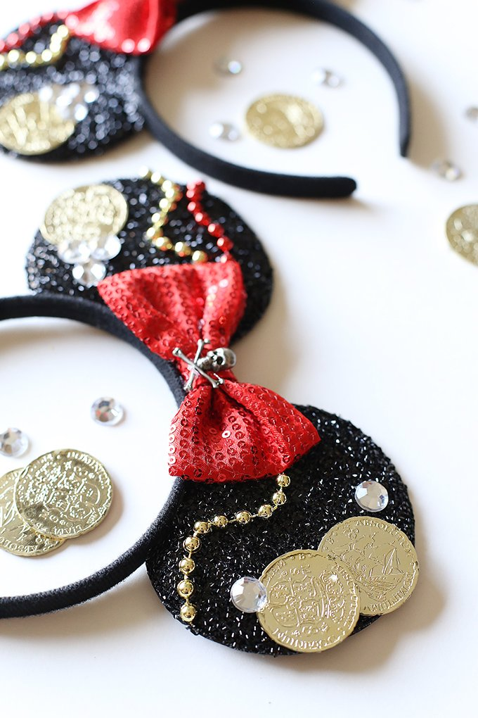 Pirate Disney Ears - See Vanessa Craft