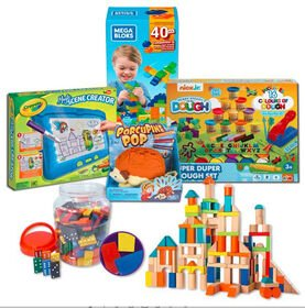 Big Imaginations Stay At Home Play Pack