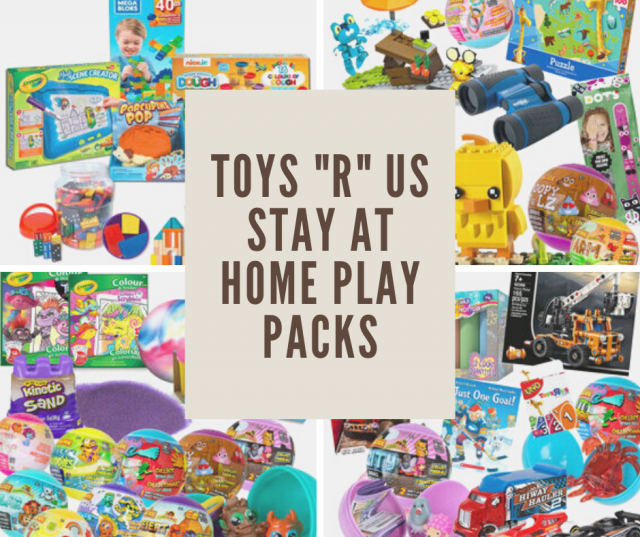 "Toys""R""Us Stay At Home Play Pack Collage"