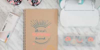 Easy Summer Journal DIY + more with Cricut Joy {First Impressions}