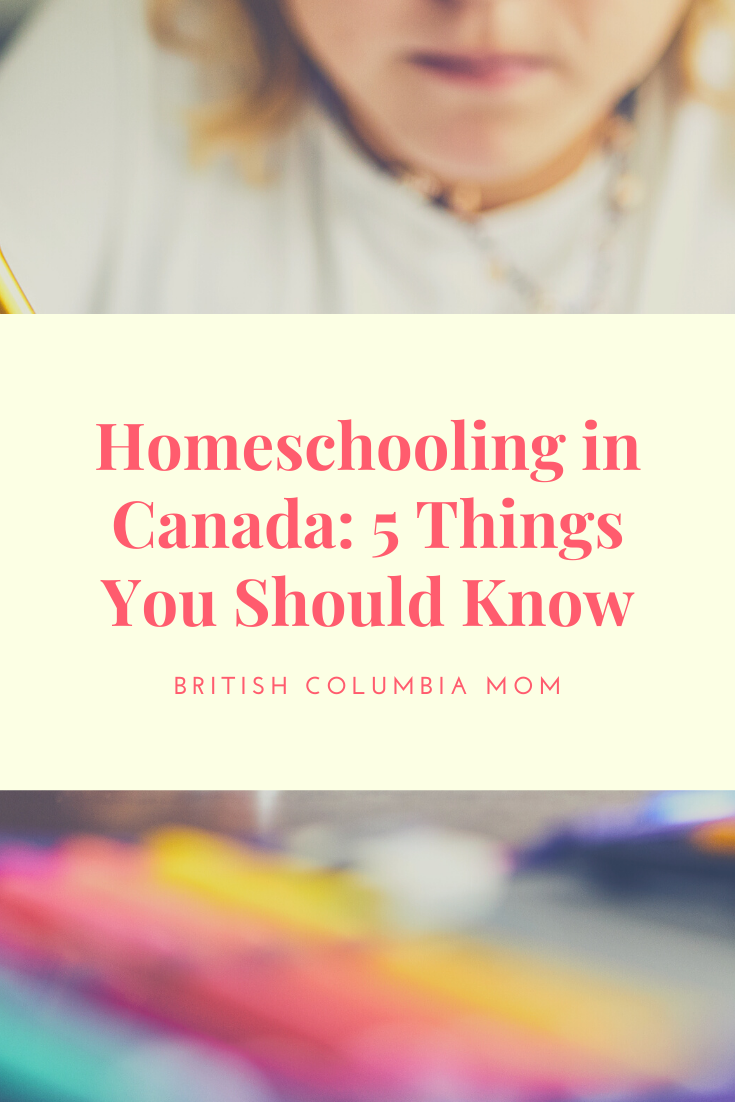 5 Things you should know about Homeschooling in Canada