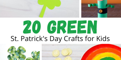 20 Green St. Patrick's Day Crafts for Kids to Make