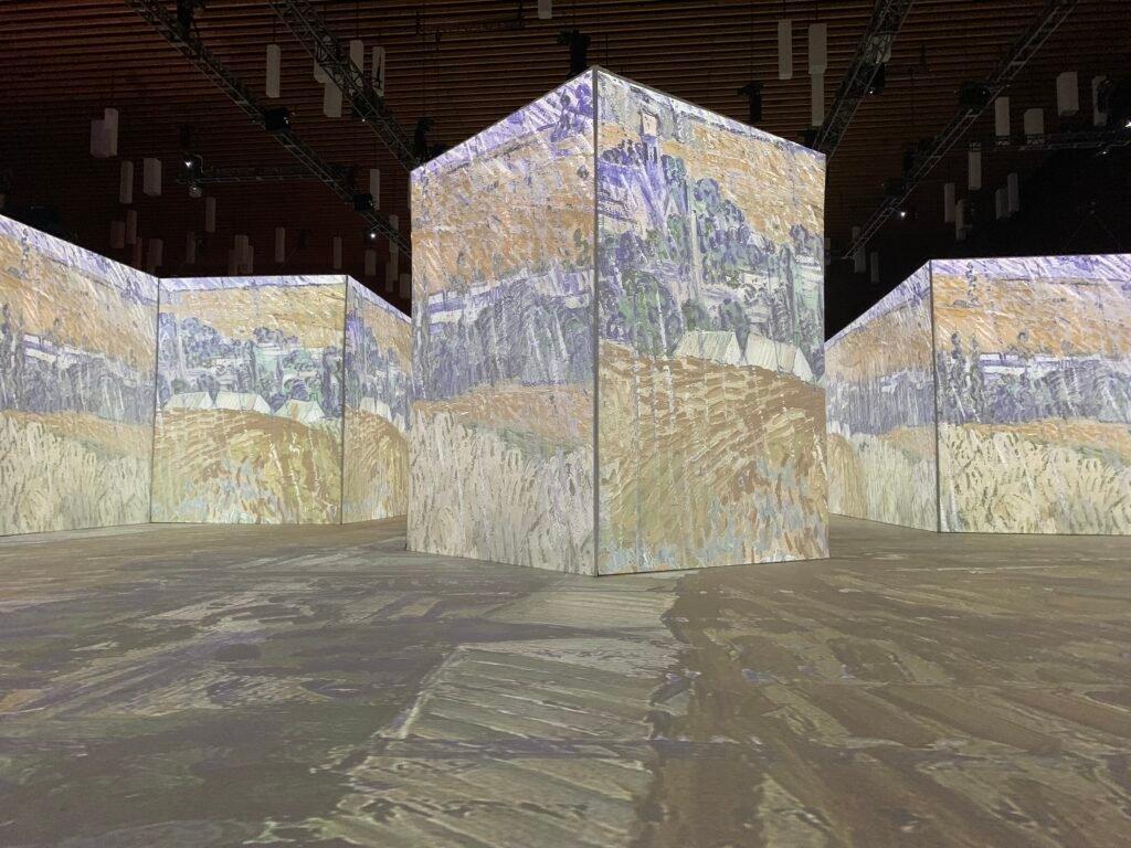 Landscape at Auvers in Rain shown at Imagine Van gogh