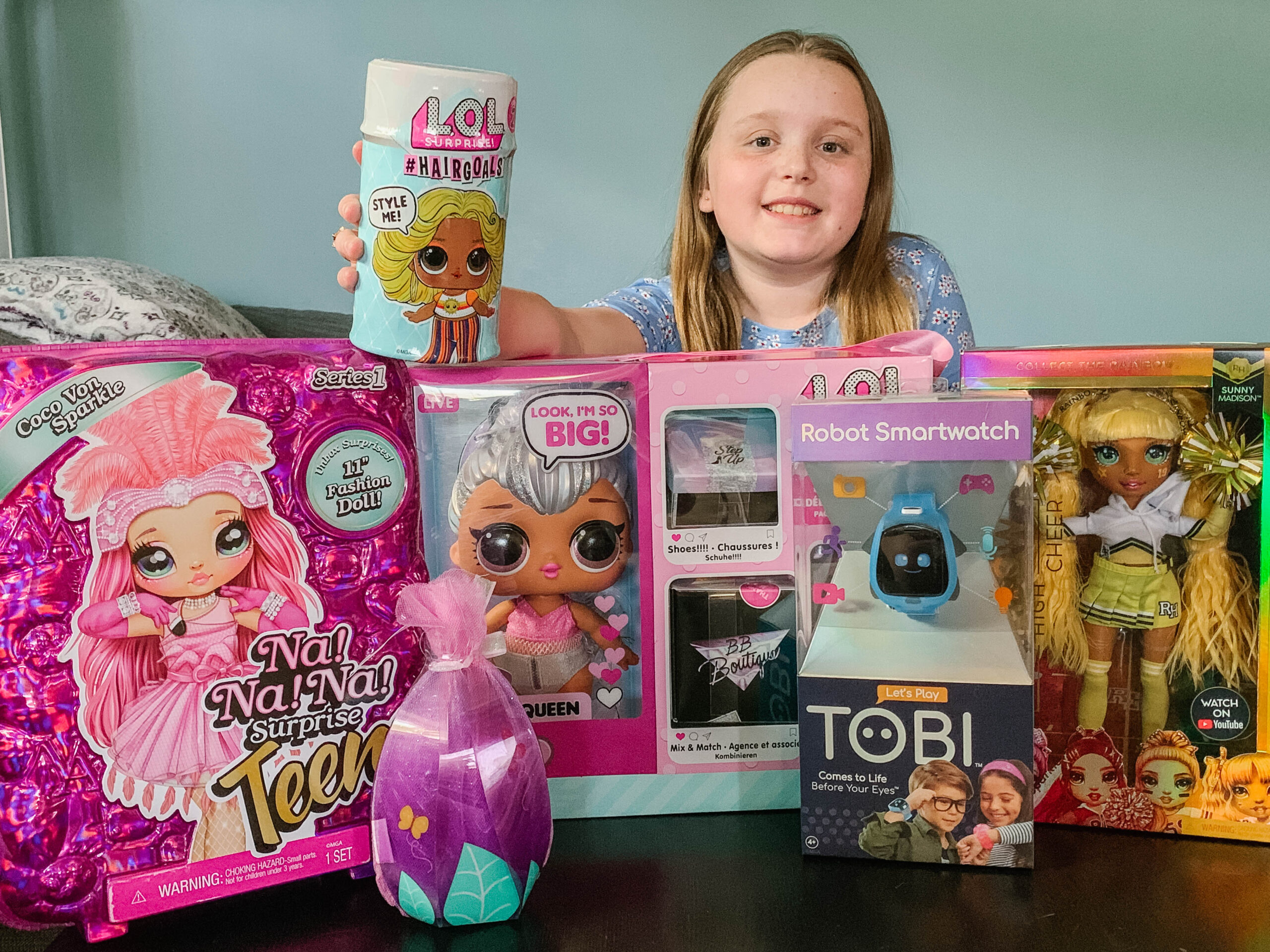 MGM Entertainment line of Toys, Na! Na! Na! Surprise Teens, Rainbow High, Tobi Smartwatch